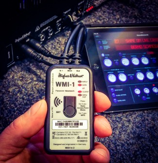 GrandMeister goes wireless – introducing the WMI-1 MIDI