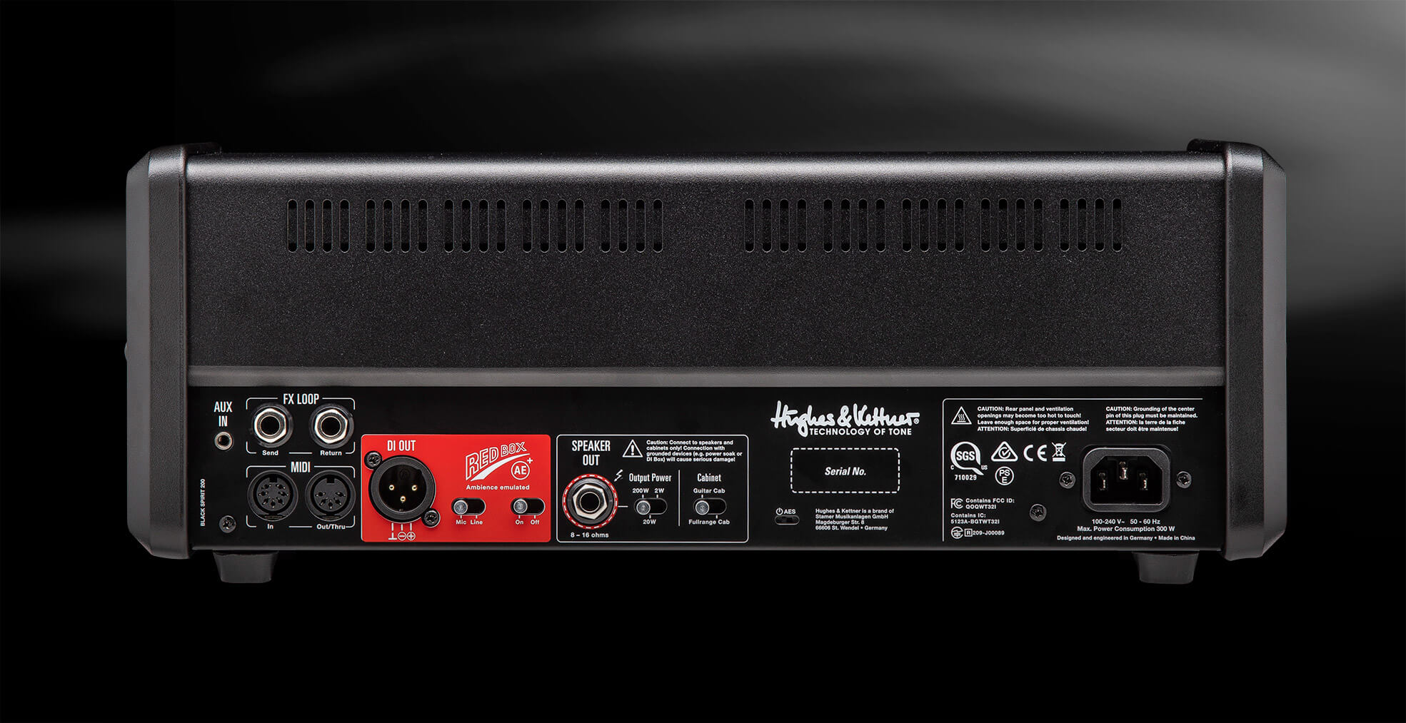 Black Spirit 200 Hughes Kettner Diagram D Audio For 410 Rooms Using A Second Stereo Receiver Pictures